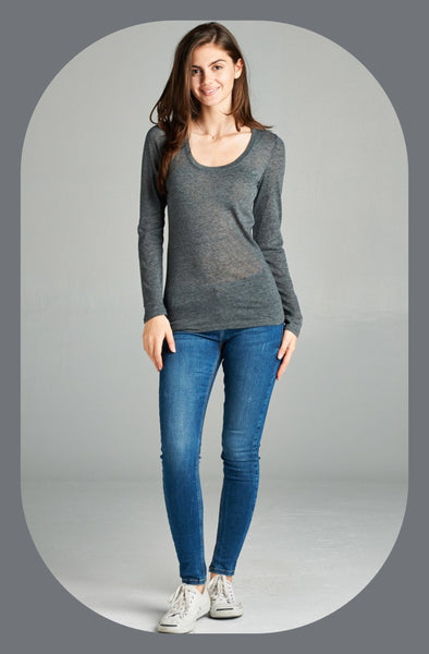 Basic Long Sleeve Tee