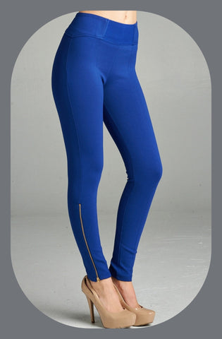 Moto Pant with bottom Zip Detail