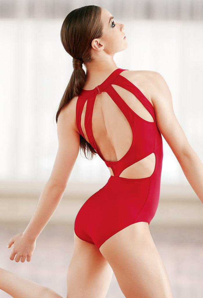 Z - Balera Cutout Back Tank Leotard