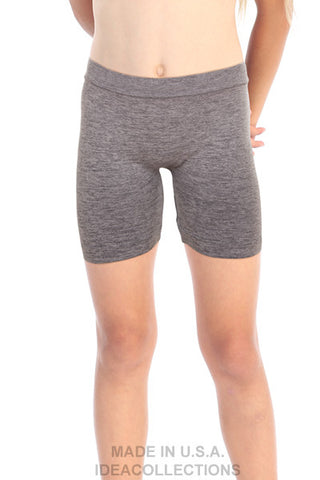 z- Kids Unisex Long Heather Boy Shorts