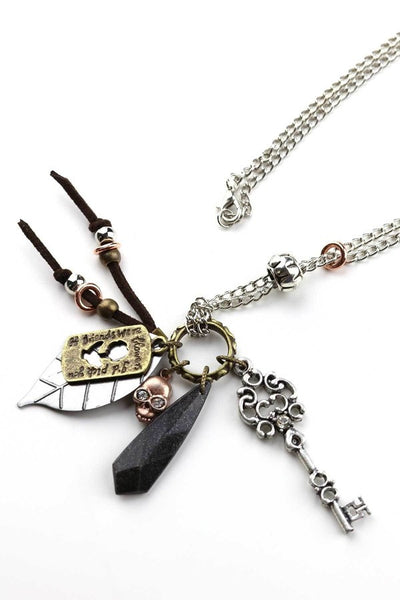 zzz-store-Multi-Charm Necklace
