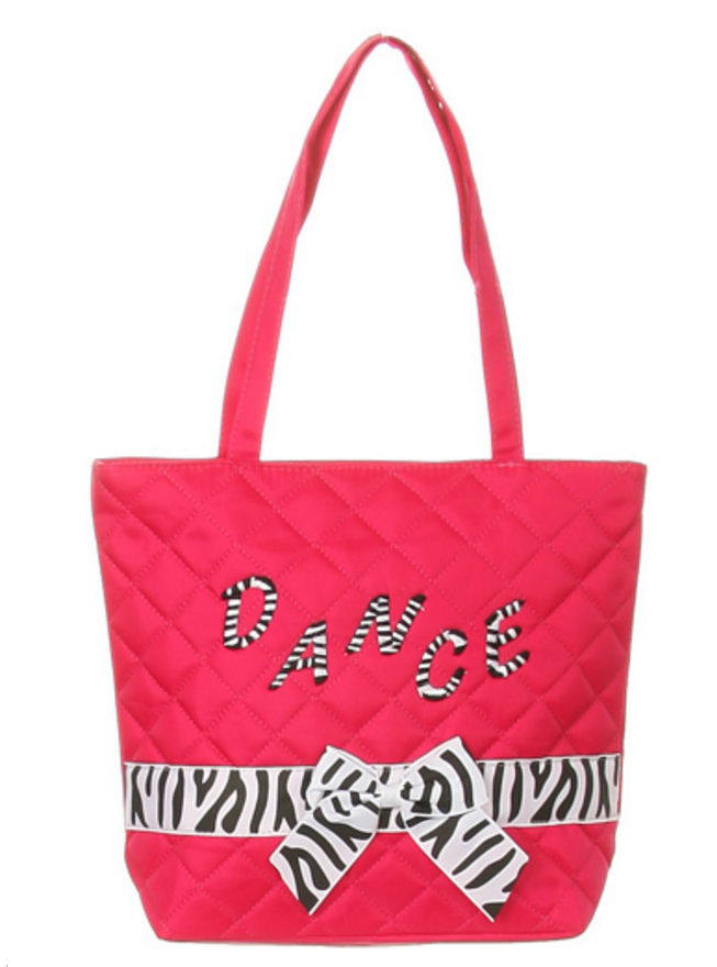 z - Zebra Tote Dance Bag
