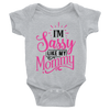 I'm Sassy Like My Mommy  [T-Shirt] awesomethreadz