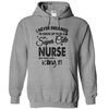 I Never Dreamed I Would Grow Up To Be A Super Cute Nurse But Here I Am Killing It T Shirt - awesomethreadz