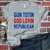 Gun Totin God Lovin Republican  [T-Shirt] awesomethreadz