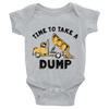 Time To Take A Dump Onesie  [T-Shirt] awesomethreadz