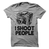 I Shoot People T Shirt - awesomethreadz