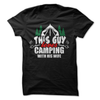 This Guy Loves Camping With His Wife T Shirt - awesomethreadz