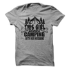 This Girl Loves Camping With Her Husband T Shirt - awesomethreadz