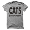 Cats Because People Suck T Shirt - awesomethreadz