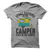 What Happens In The Camper Stays In the Camper T Shirt - awesomethreadz