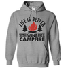 Life Is Better With Wine And A Campfire  [T-Shirt] awesomethreadz