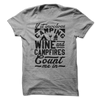 If It Involves Camping Wine and Campfires  [T-Shirt] awesomethreadz