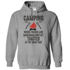 Camping Where Friends and Marshmallows Get Toasted Together  [T-Shirt] awesomethreadz