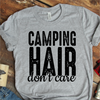 Camping Hair Don't Care Coffee Mug T Shirt - awesomethreadz