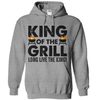 King Of The Grill T Shirt - awesomethreadz