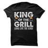King Of The Grill  [T-Shirt] awesomethreadz