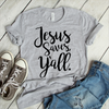 Jesus Saves Yall Coffee Mug   awesomethreadz