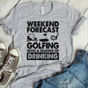Weekend Forecast Golfing With A Chance Of Drinking