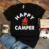 Happy Camper Campfire Coffee Mug T Shirt - awesomethreadz