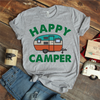 Happy Camper Coffee Mug T Shirt - awesomethreadz