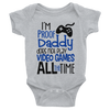 I'm Proof Daddy Does Not Play Video Games All The Time  [T-Shirt] awesomethreadz