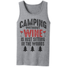 Camping WIthout Wine Is Just Sitting In The Woods T Shirt - awesomethreadz