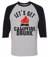 Let's Get Campfire Drunk  [T-Shirt] awesomethreadz