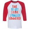 Time To Get Star Spangled Hammered  [T-Shirt] awesomethreadz