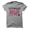 Rottweiler Mom T Shirt - awesomethreadz
