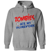 Zombies Ate My Homework T Shirt - awesomethreadz
