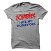 Zombies Ate My Homework  [T-Shirt] awesomethreadz