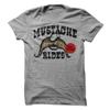 Mustache Rides T Shirt - awesomethreadz