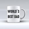 World's Best Dad Coffee Mug T Shirt - awesomethreadz