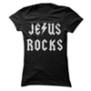 Jesus Rocks  [T-Shirt] awesomethreadz