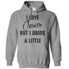 I Love Jesus But I Drink A Little T Shirt - awesomethreadz