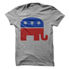 Republican Elephant T Shirt - awesomethreadz