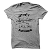 The Mountains Are Calling And I Must Go T Shirt - awesomethreadz