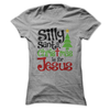 Silly Santa Christmas Is For Jesus   awesomethreadz