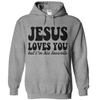 Jesus Loves You But I'm His Favorite   awesomethreadz