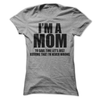 I'm A Mom To Save Time Let's Assume I'm Always Right  [T-Shirt] awesomethreadz