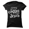 Running On Coffee And Jesus  [T-Shirt] awesomethreadz