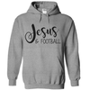 Jesus And Football  [T-Shirt] awesomethreadz