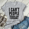 I Can't People Today Coffee Mug   - awesomethreadz