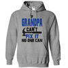 If Grandpa Cant Fix It No One Can  [T-Shirt] awesomethreadz