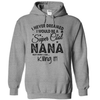 I Never Dreamed I Would Be A Super Cool Nana But Here I Am Killing It  [T-Shirt] awesomethreadz