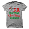 O.C.D. Obsessive Christmas Disorder  [T-Shirt] awesomethreadz