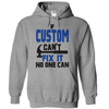 If Custom Cant Fix It No One Can  [T-Shirt] awesomethreadz