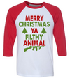 Merry Christmas Ya Filthy Animal  [T-Shirt] awesomethreadz