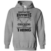 Money Can't Buy Happiness, But It Can Buy Chickens T Shirt - awesomethreadz